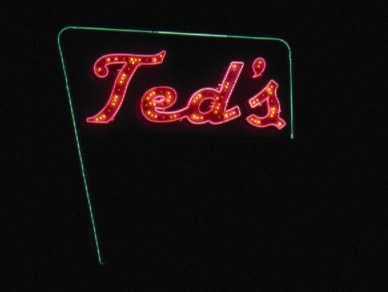 Teds Sign
